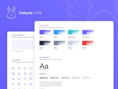 Valkyrie UI Kit ⚔️ - Free Resource