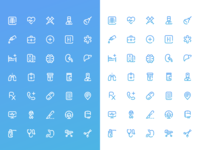 Set of veterinary icons 🐶