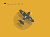 WW2 Airplane - Messerschmitt Bf-109 🛩