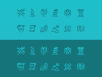 Icon Samples - Study & Education 🎓