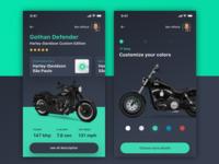 Motorcycle Customization App  🏍