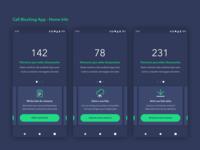 Call Blocking App - Home Info 📞