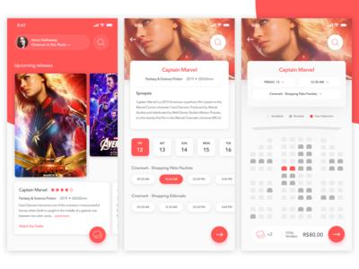 Bravo! Cinema App Concept 📽
