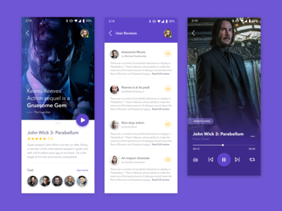App Concept - Movie Preview 🎥