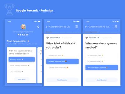 Google Rewards Redesign 🏆