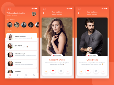 Dating App - Concept 😍