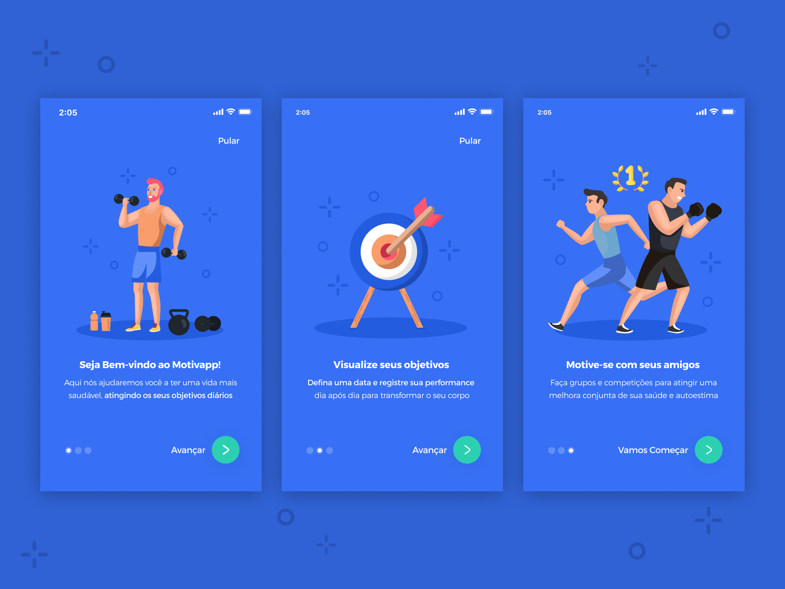 Walkthrough   workout app