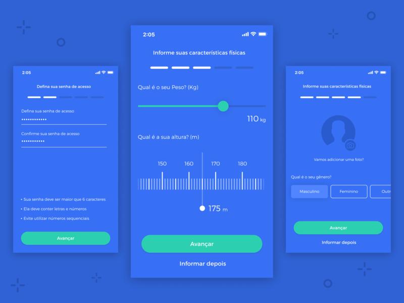 Profile Info - Workout App 🏋️♀️ (WIP)