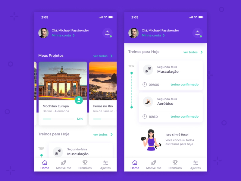 Workout Home App 🏋🏻♀️