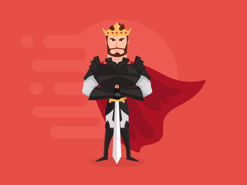 Knight King - Illustration 🗡