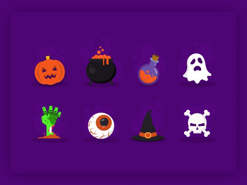 Halloween Illustrations 🎃