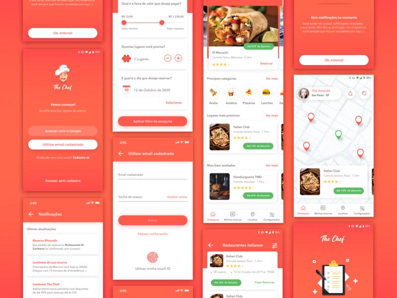 Restaurant App - Final Shot 👨🏻🍳