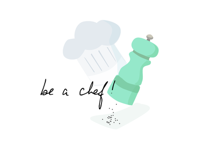 Pepper Grinder zero waste chef kitchen pepper grinder