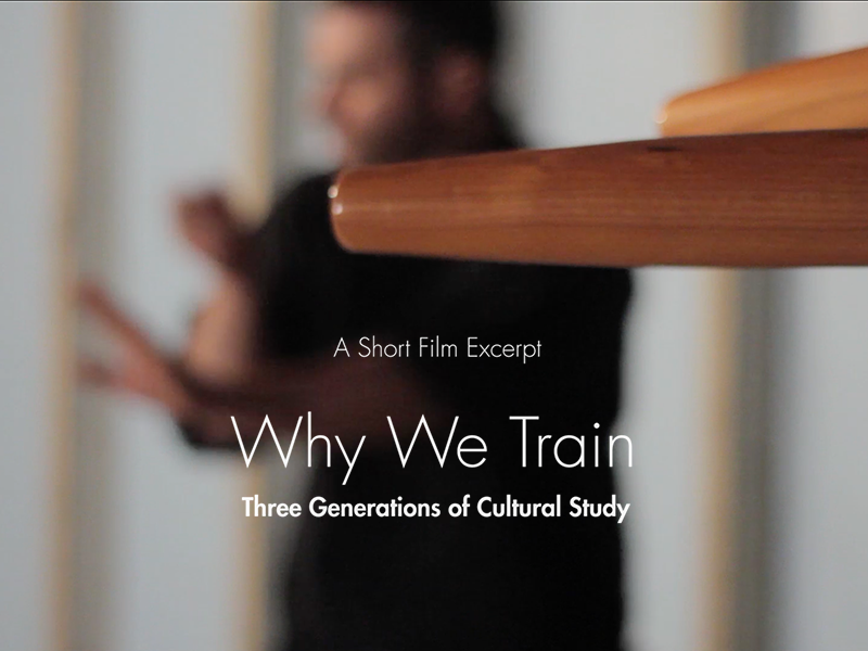 Why We Train — A Short Film Teaser documentary short film film kung fu video storytelling narrative directing martial arts mma