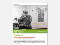 REC Newsletter Redesign Exercise