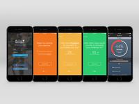 Fitness Challenge Prototype - Login, Setup, Dashboard