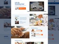 Resource Landing Page