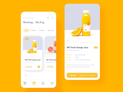 drinking app redesign