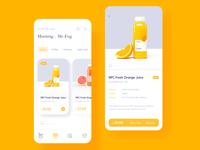 drinking app redesign