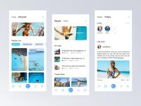 Travel live  page design 02