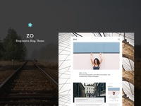Zo | Responsive Blog Wordpress Theme