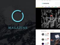 Magazine - News, Magazine WordPress Theme