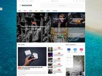 Boxed Layout for Magazine WordPress Theme