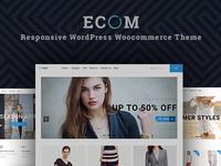 ECOM - Responsive WordPress Woocommerce Theme