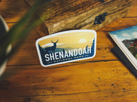 Shenandoah Sticker