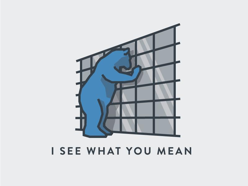 Giant Blue Bear Denver By Alex Eiman On Dribbble