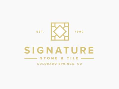 Signature Stone & Tile by Alex Eiman - Dribbble