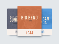 National Park Cards
