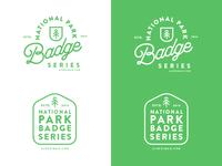 National Park Badge Series Logo