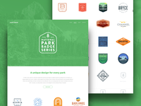 National Park Badge Series Landing Page