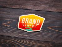 Grand Canyon NP Sticker (concept)