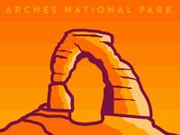 Delicate Arch Closeup