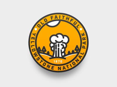 Old Faithful Badge