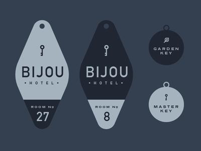 Bijou Hotel Keys