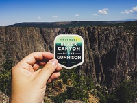 Black Canyon NP Sticker
