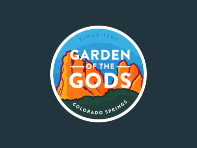 Garden of the Gods Badge