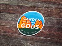 Garden of the Gods Stickers