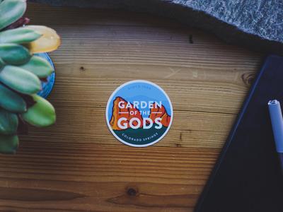 Garden of the Gods Sticker