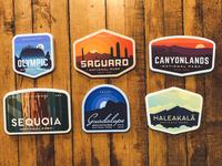 New National Park Sticker