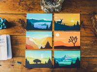 National Park Postcard Collection 3
