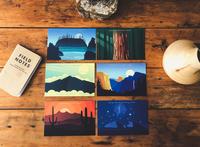 National Park Postcard Collection 2