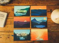 National Park Postcard Pack 1