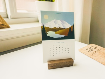 2020 National Park Calendar mountains badges national park national parks desk calendar calendar 2020