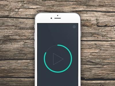 Remote app, take a look at the video mockuuups design ui ux sound volume ios remote iphone app