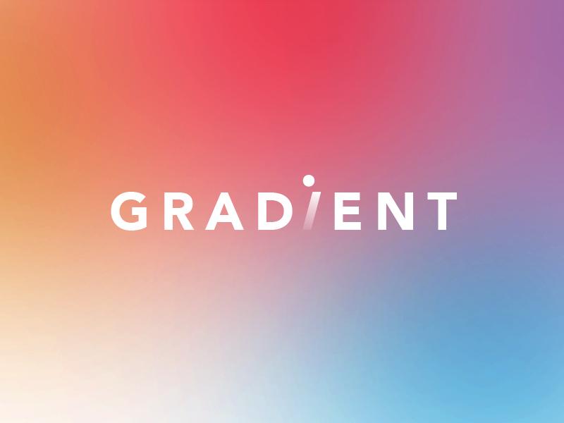 Gradient Logo gradient photographer designer media agency creative logo branding