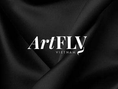 ArtFly VN clothing silk fly brand typography typo art fashion